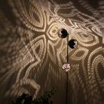 Floor Trio coconut lamp